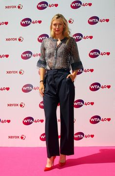 WTA 40th Anniversary Celebration Event 2013 - Maria Sharapova Official Website