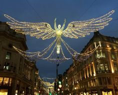 Regent Street Christmas Lights, London