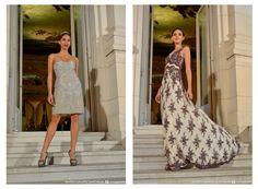 Six O´Clock Tea 21° Edición -  Brezza mostró unos bellísimos vestidos cortos y largos de cocktail y fiesta