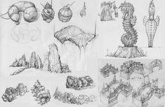 ArtStation - concept sketch, KKS ~