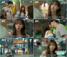 bong pal and hyun ji sudden kiss at the road - Let's Fight Ghost - Episode 13…