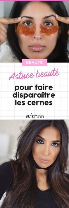 Le remède de cette youtubeuse fait disparaître les cernes instantanément (Photos) #astuce #beauté #cernes #anticernes #remede #aufeminin