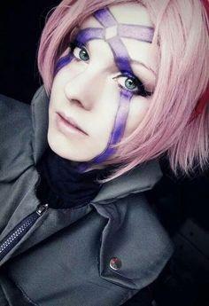 Image via We Heart It https://weheartit.com/entry/149528425 #adorable #anime #Best #cosplay #naruto #ninja #sakuraharuno #konoha
