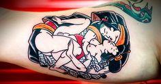 (NSFW) 15 Sensuous Shunga Tattoos