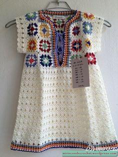 Transcendent Crochet a Solid Granny Square Ideas. Inconceivable Crochet a Solid Granny Square Ideas. Crochet Girls, Crochet Woman, Crochet For Kids, Easy Crochet, Knit Crochet, Crochet Summer, Crochet Toddler, Crochet Fringe, Crochet Winter