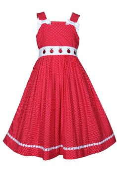 2ba80b8ef57 Red and White Polka Dot Ladybug Dress Perfect for summer parties!   MadeintheUSA Available at