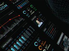 Touchscreen monitor UI