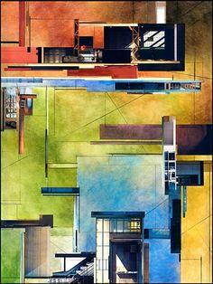 Ginny Herzog - Architectural Collage