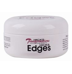 Hicks Total Transformations Hicks Edges 4 oz $9.95    Visit www.BarberSalon.com One stop shopping for Professional Barber Supplies, Salon Supplies, Hair & Wigs, Professional Products. GUARANTEE LOW PRICES!!! #barbersupply #barbersupplies #salonsupply #salonsupplies #beautysupply #beautysupplies #hair #wig #deal #promotion #sale #hicks #edges