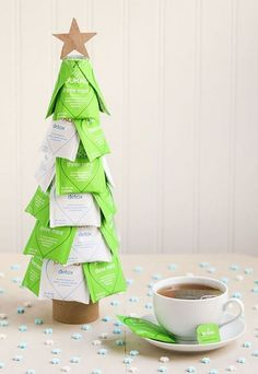 75 DIY Homemade Christmas Gifts - Craft Ideas for Christmas Presents presents for christmas DIY Christmas Gifts That'll Mean so Much to Your Friends and Family Easy Homemade Christmas Gifts, Christmas Crafts For Gifts, Easy Diy Gifts, Christmas Tea, Craft Gifts, Christmas Decorations, Creative Gifts, Family Christmas, Inexpensive Christmas Gifts