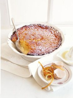 Mmmmm love me some Donna Hay recipes citrus deliciOus pudding Lemon Desserts, Just Desserts, Dessert Recipes, Donna Hay Recipes, Brownie Desserts, Macaron, Love Food, Sweet Recipes, The Best