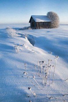 Winter in Finland (at Pohjanmaa) -Talvi