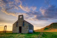 Chapel of the Holy Spirit, located about 3 miles south of the Grand River in Corson County. Photo by Christian Begeman.