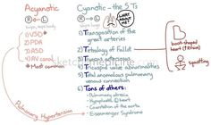 Acyanotic vs Cyanotic Congenital Heart Defects | Sketchy Medicine