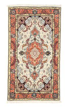 Tabriz 50 Raj silkkiloimi-matto 69x131