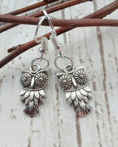 Check out this item in my Etsy shop https://www.etsy.com/uk/listing/555273245/small-owl-earrings-owl-earrings-bird