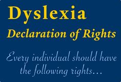Yale Center For Dyslexia & Creativity, including information on Dyslexia for children, parents and educators.