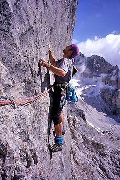 Rocky Perch - Dolomites, Italy