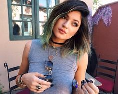 Dip dye short hair: wish I could have my hair like this
