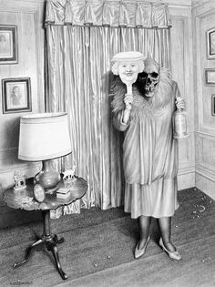 Scary Drawings By Laurie Lipton