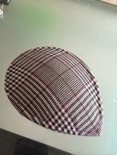 How to make a pillbox hat. Diy Plaid Facinator - Step 4