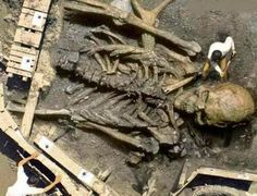 Nephilim Chronicles: Giant Human Skeletons: Snopes Uses This Fake Photo To Debunk the Giants