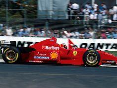 1996 Michael Schumacher, Scuderia Ferrari, Ferrari F310