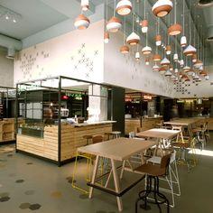 SOUK cafe | restaurant design #architecture #interiordesign