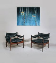 KRISTIAN VEDEL  MODUS SUITE £2200 Kristian Vedel Modus chairs and table