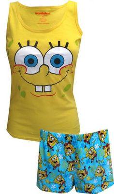 Nickelodeon SpongeBob Cotton Shortie Pajama