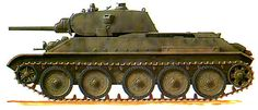Т-34 обр. 1941 г. со сварной башней и 76,2-мм пушкой Л-11