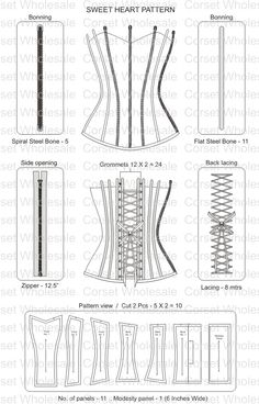corset..._...from the board..._...http://www.pinterest.com/GliraBrownlock/free-sewing-patterns/