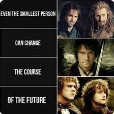 small people can also change the future