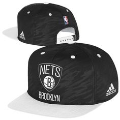 Brooklyn Nets Merchandise – Adidas On-Court Snapback Adjustable Hat Brooklyn Basketball, Brooklyn Nets, Snapback, Adidas, Hats, Fashion, Yard, Moda, Hat
