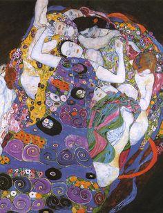 The Virgin (1913) by Gustav Klimt