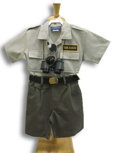 Looking for a #Halloween costume for your little one? How about a park ranger?