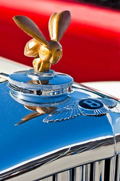 "1954 Bentley ""Custom Made"" Hood Ornament"