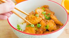 How to Make Orange Chicken from scratch at home, only takes 20 minutes! Skip the Chinese takeout and make it fresh in your own kitchen.