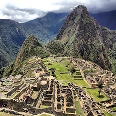 Magestic Machu Picchu. Discovered at age 18 when I was traveling alone for the 1st time. Words cannot express how this ancient city digs at one's soul. A Truly captivating & whimsical place.