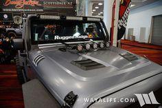 2015 SEMA Rugged Ridge Silver Jeep JK Wrangler Unlimited
