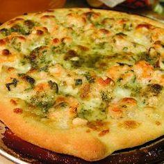 Broccoli Deep Dish Pizza