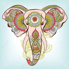 elefantes hindues animados - Buscar con Google