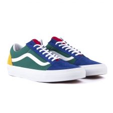 0ed850003ae VANS SHOES OLD SKOOL (VANS YACHT CLUB) BLUE GREEN YELLOW S18