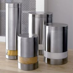 Crate & Barrel Canisters