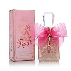 Viva La Juicy Rose Juicy Couture perfume - a new fragrance for women 2015 Perfume Body Spray, Rose Perfume, Parfum Spray, Candy Perfume, Juicy Couture, New Fragrances, Fragrance Parfum, Parfum Chloe, Couture Perfume