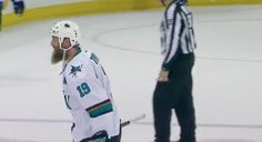 WATCH: Sharks' Joe Thornton records 1,000th career assist = [video] It was a historic Monday night for San Jose Sharks center Joe Thornton, who became the 13th player in league history to reach the 1,000-assist plateau. The record-setting goal came with 28 seconds remaining in regulation as Joe Pavelski added an empty-netter for the Sharks, which was…..