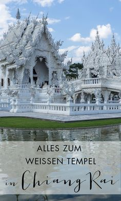 Der Weiße Tempel Wat Rong Khun ist das Highlight in Chiang Rai. Alle Informationen zu deinem Besuch im weißen Tempel und viele Fotos findest du in diesem Bericht.
