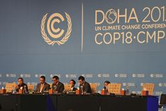 Seven key issues will feature prominently during week two of the COP 18 conference in Doha, Qatar. Photo credit: Flickr/theverb.org