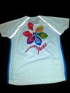 Realizzazione maglia tecnica personalizzata per la Mezza maratona dei fiori di San Benedetto del Tronto.