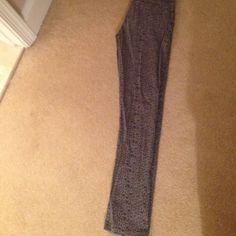 Vigoss, size 12 children leopard jeans never worn! Adorable gray leopard print jeans from Vigoss! Never worn! Vigoss Bottoms